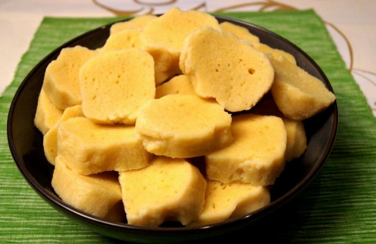 Sametové bramborové knedlíky maminky Eleonory