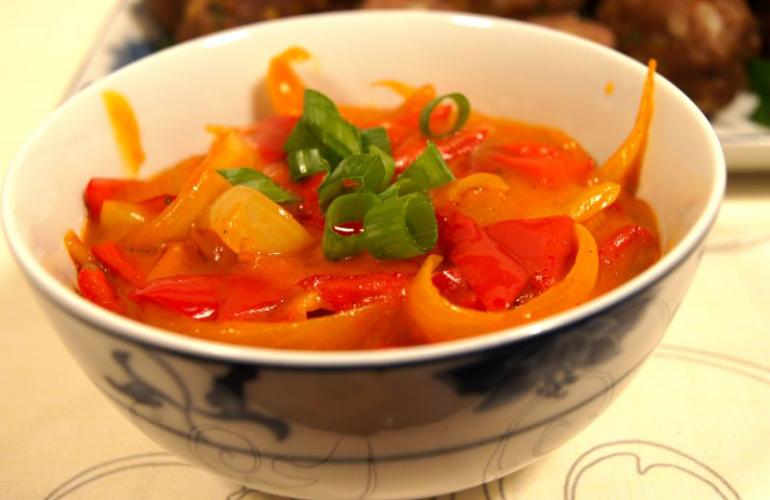 Recept na pikantní paprikovou omáčku