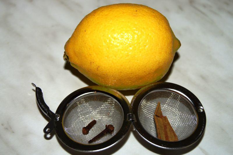 Skořice, hřebíček a citrón